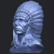 09_TDA0489_Red_Indian_03_BustB02.png Download free STL file Red Indian 03 • 3D printer model, GeorgesNikkei