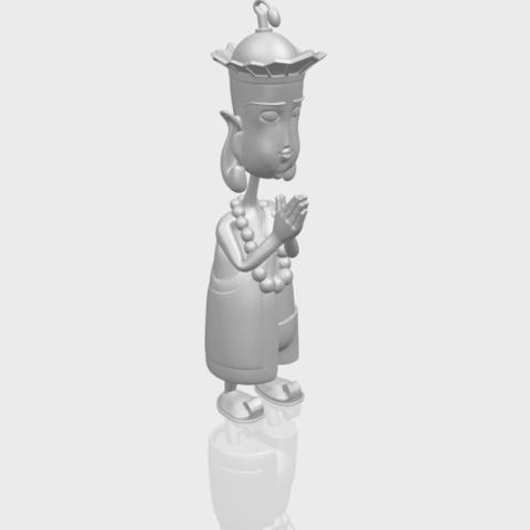 14_TDA0245_Pilgrimage-Tang_SengA00-1.png Download free STL file Pilgrimage-Tang Seng • 3D printable template, GeorgesNikkei
