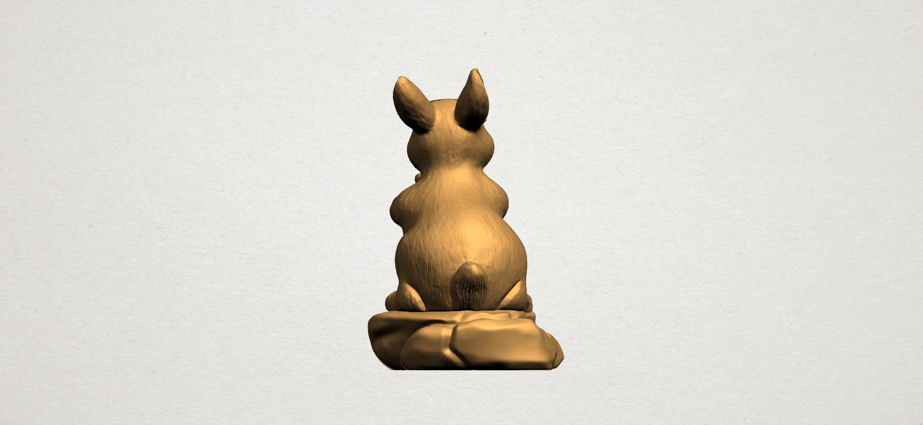 Chinese Horoscope04-A04.png Télécharger fichier STL gratuit Horoscope Chinois 04 Lapin • Design à imprimer en 3D, GeorgesNikkei