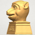 3D file Chinese Horoscope of Monkey 02, Miketon