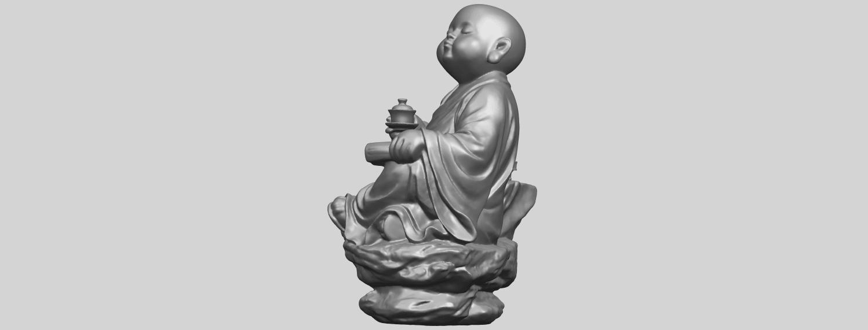 17_TDA0558_Little_Monk_Drink_TeaA04.png Télécharger fichier STL gratuit Boire du thé Little Monk Drink Tea • Design à imprimer en 3D, GeorgesNikkei
