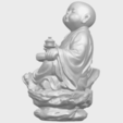 Download free 3D printer designs  Little Monk Drink Tea, GeorgesNikkei