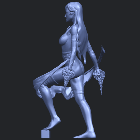 07_TDA0476_Beautiful_Girl_10B04.png Download free STL file Beautiful Girl 10 • 3D printable design, GeorgesNikkei