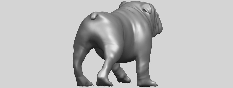 14_TDA0520_Bull_Dog_01A07.png Télécharger fichier STL gratuit Chien de taureau 01 • Plan pour impression 3D, GeorgesNikkei