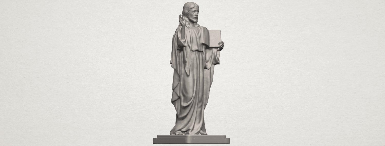 TDA0237 Jesus (v) A06.png Télécharger fichier STL gratuit Jésus 05 • Design imprimable en 3D, GeorgesNikkei