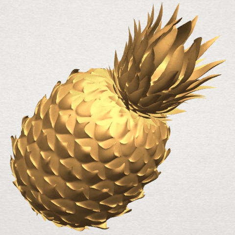 TDA0552 Pineapple A04.png Download free STL file Pineapple • 3D printer design, GeorgesNikkei