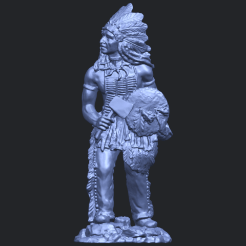 13_TDA0240_Red_IndianB01.png Download free STL file Red Indian • 3D print template, GeorgesNikkei