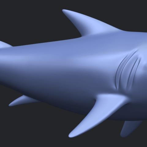 17_TDA0486_SharkB07.png Download free STL file Shark • 3D print design, GeorgesNikkei