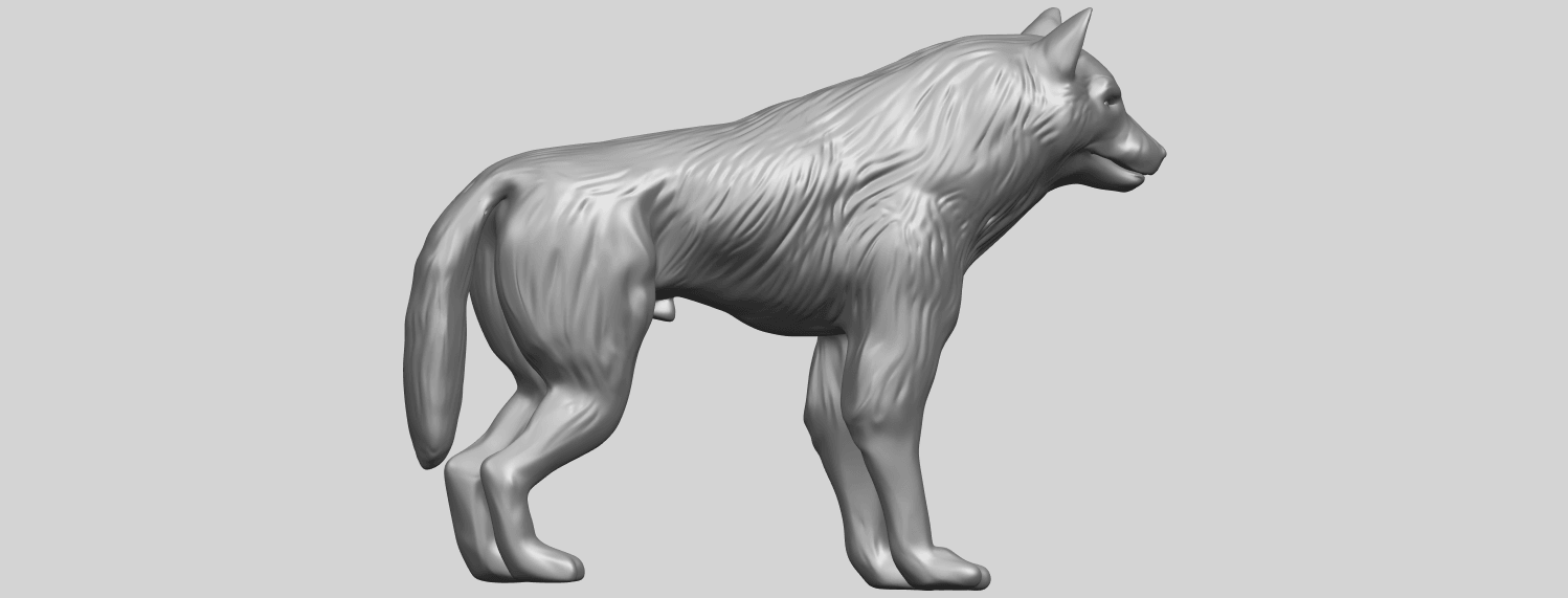 14_TDA0610_WolfA06.png Download free STL file Wolf • 3D printable design, GeorgesNikkei