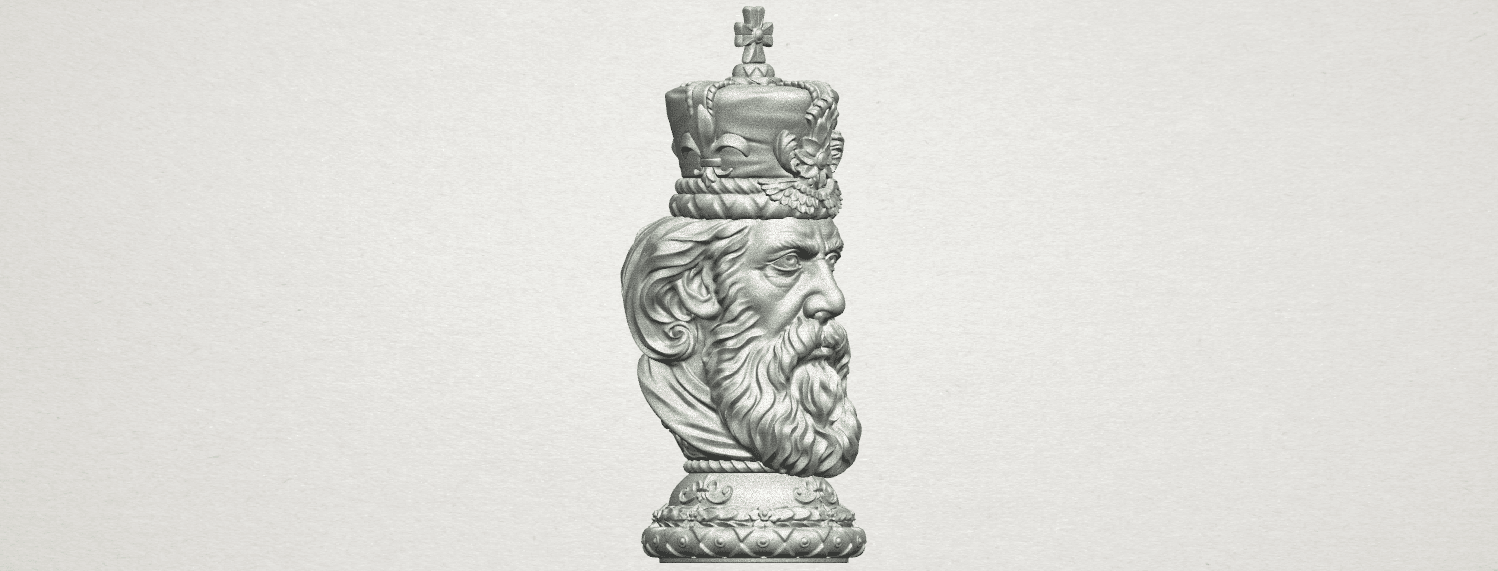 TDA0254 Chess-The King A09.png Download free STL file Chess-The King • 3D printer model, GeorgesNikkei