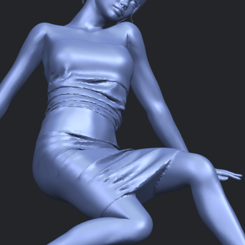 15_TDA0662_Naked_Girl_G10A10.png Download free STL file Naked Girl G10 • 3D printable template, GeorgesNikkei