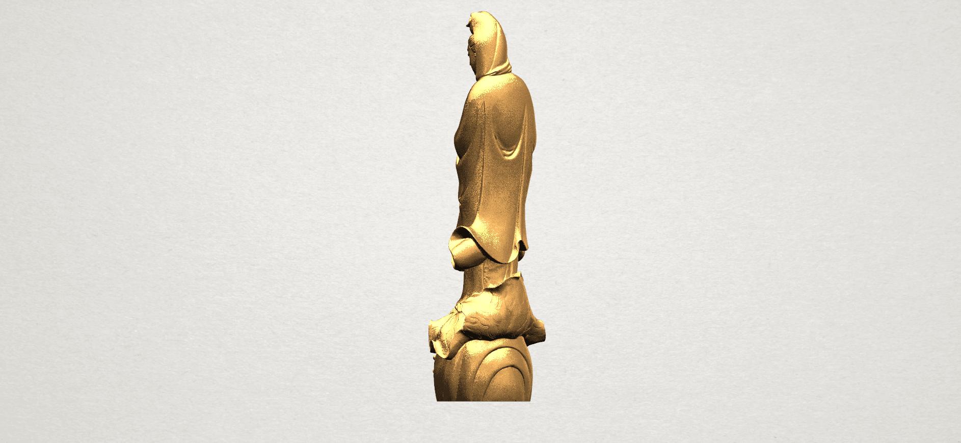 Avalokitesvara Buddha - Standing (i) A04.png Download free STL file Avalokitesvara Bodhisattva - Standing 01 • 3D printable design, GeorgesNikkei