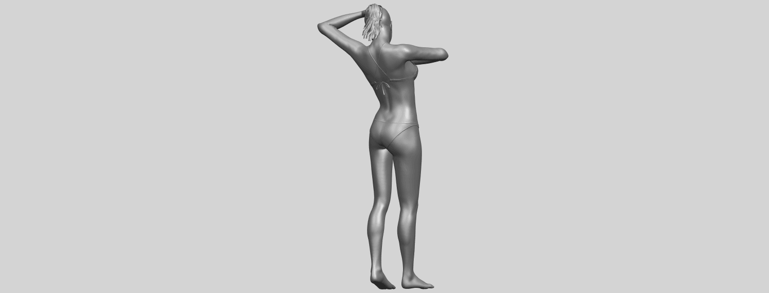16_TDA0633_Naked_Girl_D03-A08.png Download free STL file Naked Girl D03 • 3D printing template, GeorgesNikkei