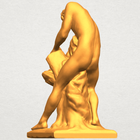 A03.png Download free STL file Milo of Croton • 3D printing design, GeorgesNikkei