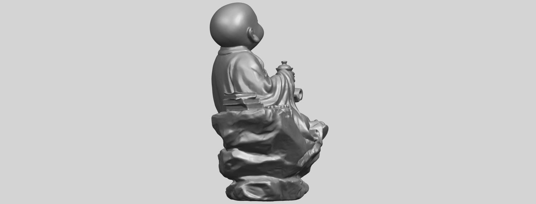 17_TDA0558_Little_Monk_Drink_TeaA09.png Télécharger fichier STL gratuit Boire du thé Little Monk Drink Tea • Design à imprimer en 3D, GeorgesNikkei