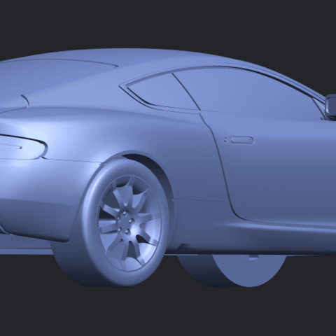 TDB006_1-50 ALLA05.png Download free STL file Aston Martin DB9 Coupe • 3D printer template, GeorgesNikkei