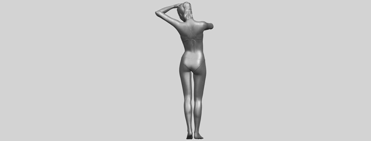 16_TDA0633_Naked_Girl_D03-A07.png Download free STL file Naked Girl D03 • 3D printing template, GeorgesNikkei