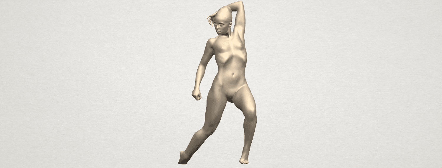 TDA0279 Naked Girl A06 02.png Download free STL file Naked Girl A06 • 3D printing template, GeorgesNikkei