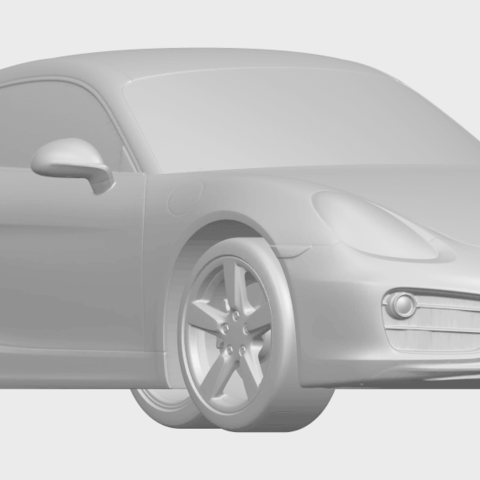 16_TDA0304_Porche_01_Length438mmA08.png Download free STL file Porche 01 • 3D printable object, GeorgesNikkei