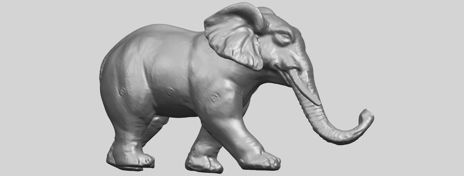 07_Elephant_01_92.6mmA07.png Download free STL file Elephant 01 • 3D printer design, GeorgesNikkei