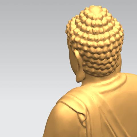 TDA0459 Gautama Buddha (iii) B04.png Download free STL file Gautama Buddha 03 • 3D printer template, GeorgesNikkei