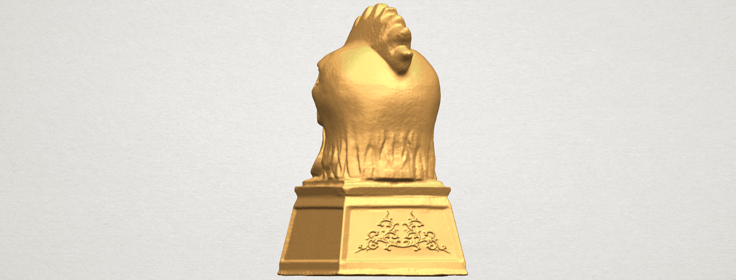 TDA0517 Chinese Horoscope of Rooster 02 A04.png Download free STL file Chinese Horoscope of Rooster 02 • 3D printable object, GeorgesNikkei