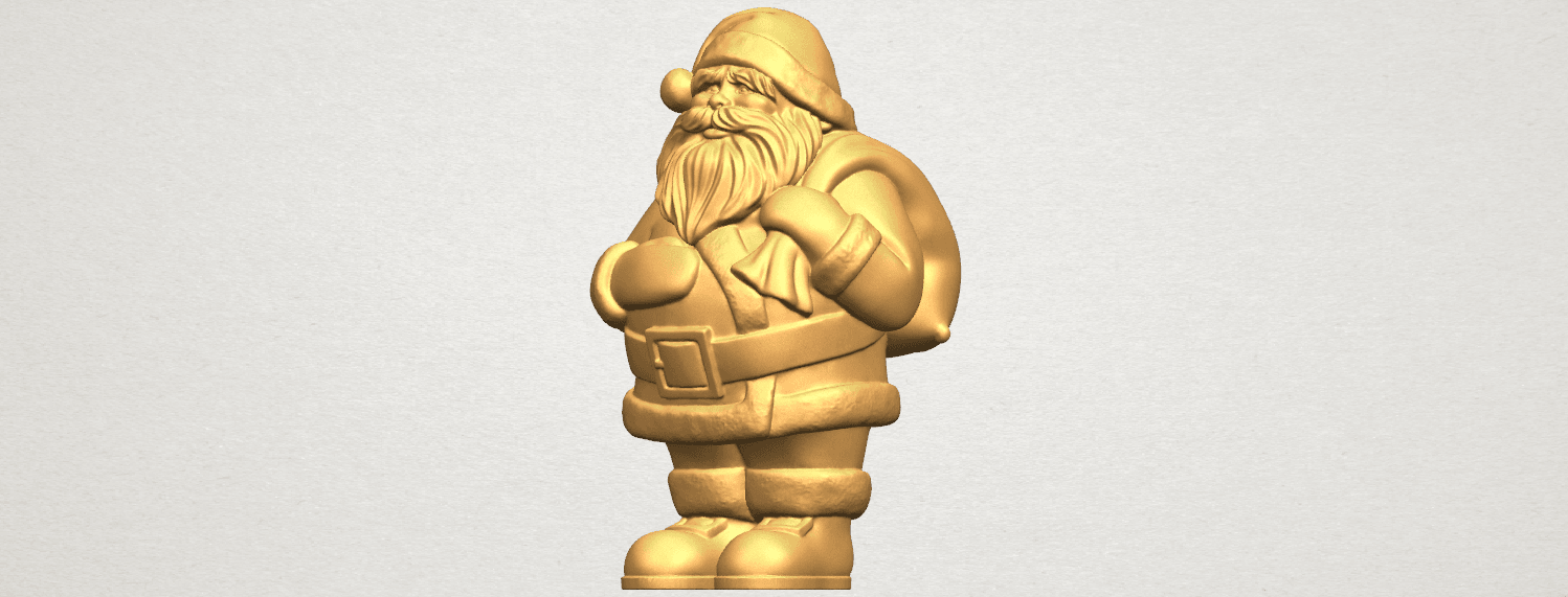TDA0579 Santa Claus A02.png Download free STL file Santa Claus • Object to 3D print, GeorgesNikkei