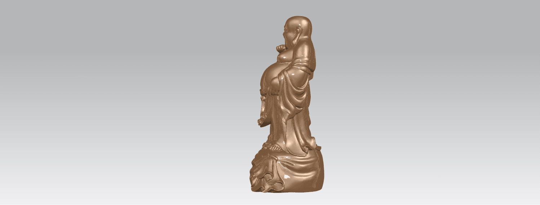 TDA0234 Metteyya Buddha 08 A03.png Download free STL file Metteyya Buddha 08 • 3D printing model, GeorgesNikkei