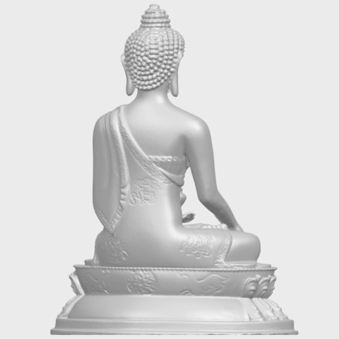 15_TDA0173_Thai_Buddha_(iii)_88mmA07.png Download free STL file Thai Buddha 03 • 3D printing object, GeorgesNikkei