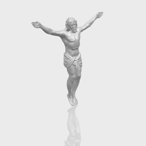 21_TDA0230_Jesus_iA00-1.png Download free STL file Jesus 01 - top • Object to 3D print, GeorgesNikkei