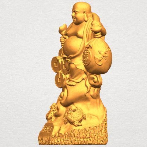 TDA0329 Metteyya Buddha 09 A03.png Télécharger fichier STL gratuit Bouddha Metteyya 09 • Modèle imprimable en 3D, GeorgesNikkei