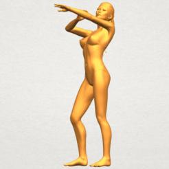 3D printer file Naked Girl D05, Miketon