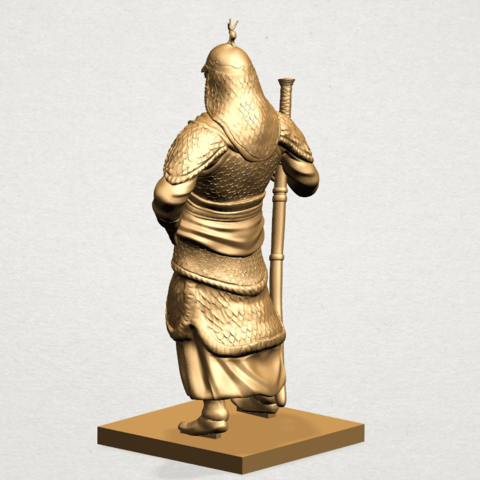 Age of Empire - warrior -B04.png Download free STL file Age of Empire - warrio • 3D print design, GeorgesNikkei