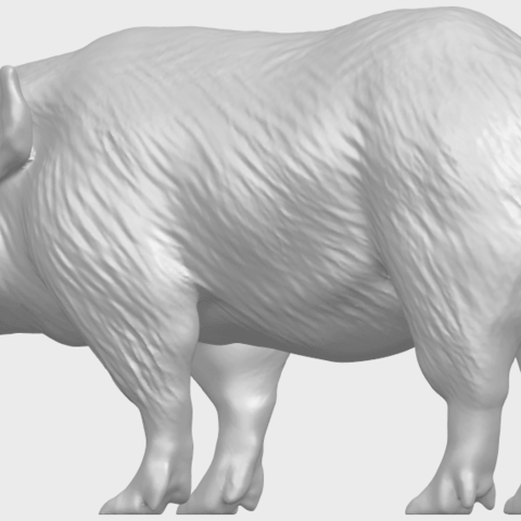 13_TDA0320_Pig_ii_A02.png Download free STL file Pig 02 • 3D printable object, GeorgesNikkei