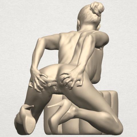 TDA0286 Naked Girl B03 04.png Download free STL file  Naked Girl B03 • 3D printing model, GeorgesNikkei