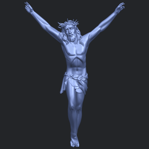 05_TDA0231_Jesus_(ii)_88mmB01.png Download free STL file Jesus 02 • 3D printing template, GeorgesNikkei