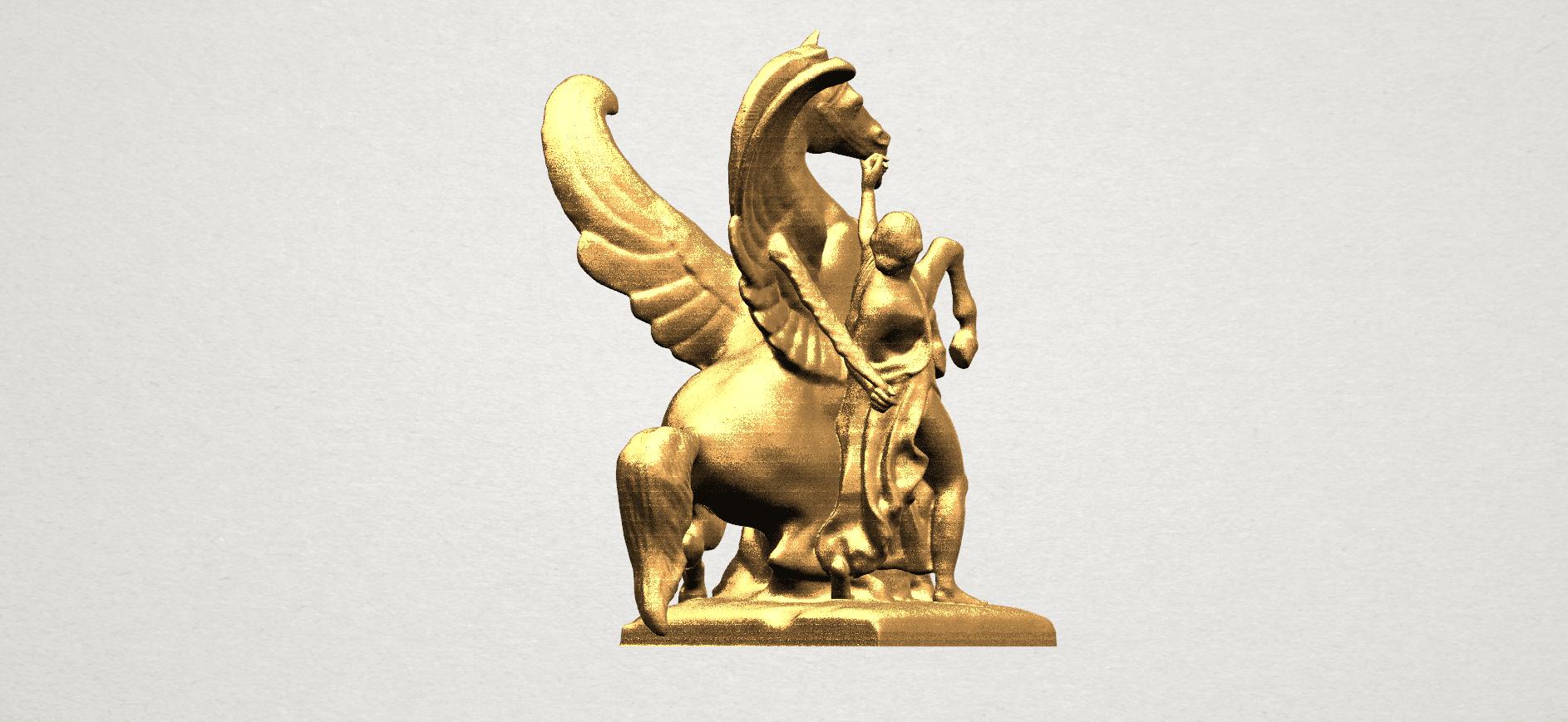Horse (v) A03.png Télécharger fichier STL gratuit Cheval 05 • Plan pour impression 3D, GeorgesNikkei