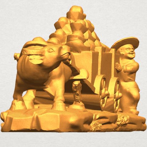 TDA0315 Golden Car A08.png Download free STL file Golden Car • 3D printer template, GeorgesNikkei