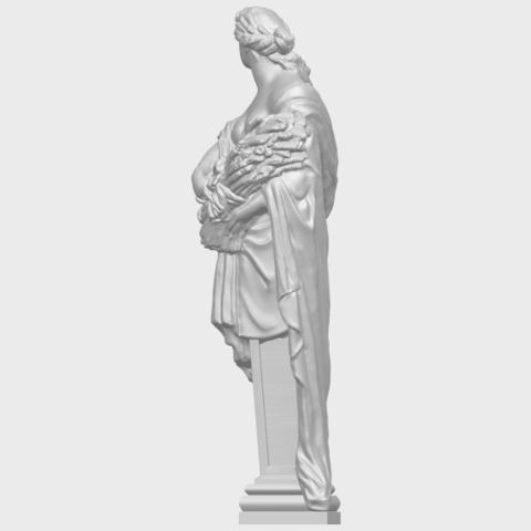 12_TDA0260_Sculpture_AutumnA04.png Download free STL file Sculpture - Autumn • 3D print template, GeorgesNikkei