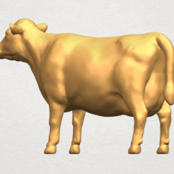 Free 3d printer model Cow 01, GeorgesNikkei