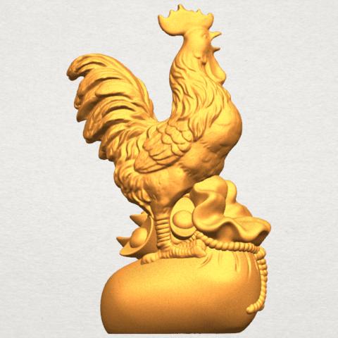 TDA0321 Cock A05.png Télécharger fichier STL gratuit Coq 01 • Design pour impression 3D, GeorgesNikkei
