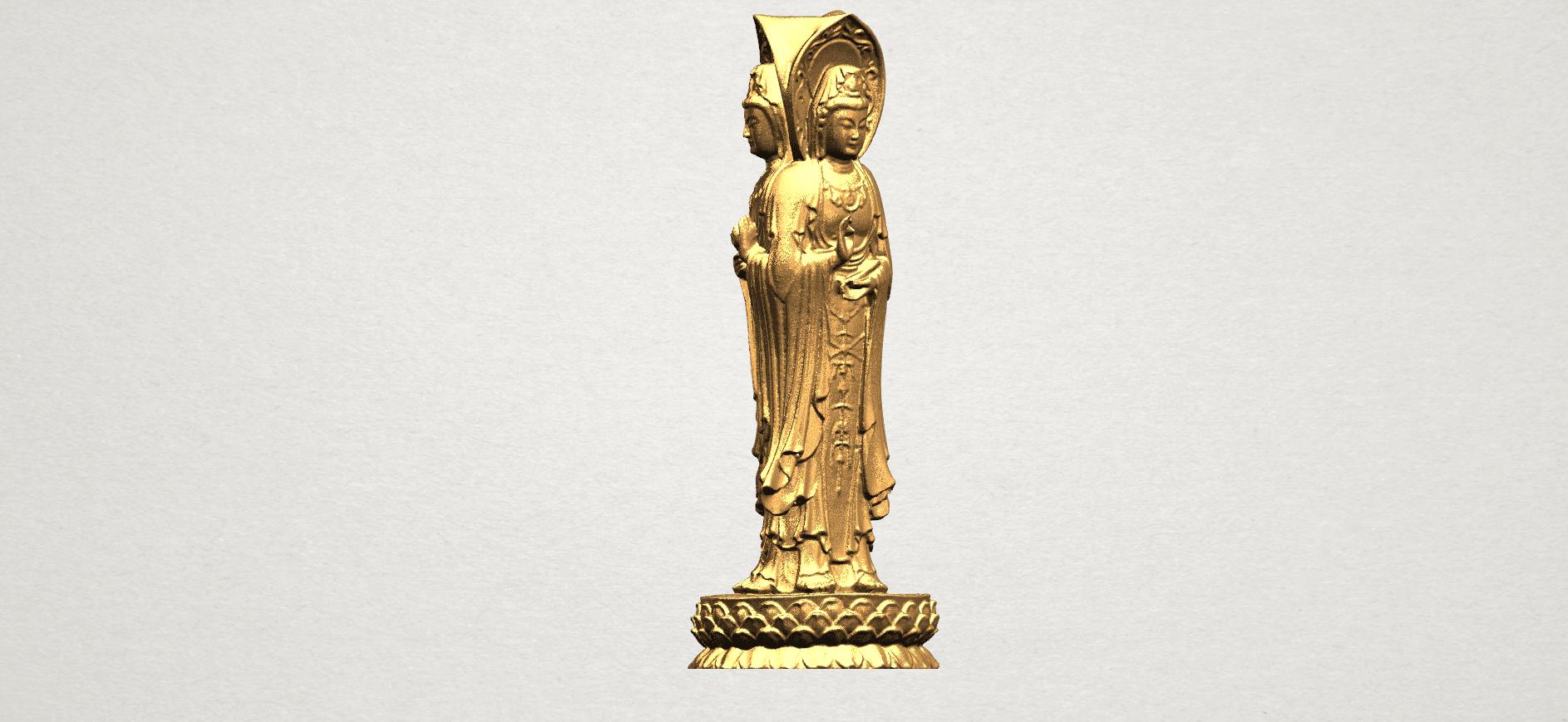 Avalokitesvara Buddha (with Lotus Leave) (i) A03.png Download free STL file Avalokitesvara Buddha (with Lotus Leave) 01 • 3D printable model, GeorgesNikkei