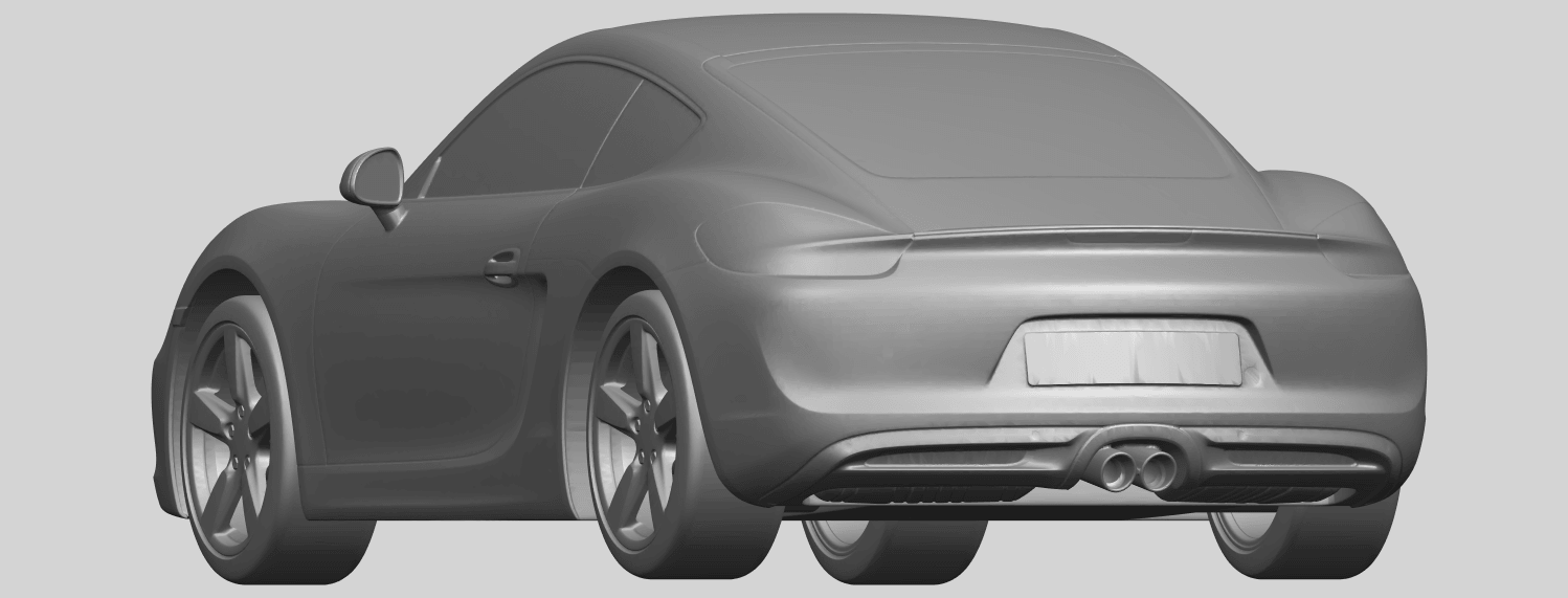 16_TDA0304_Porche_01_Length438mmA03.png Download free STL file Porche 01 • 3D printable object, GeorgesNikkei