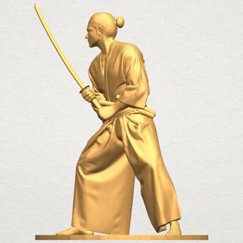 TDA0544 Japanese Warrior A02.png Download free STL file Japanese Warrior • 3D printer model, GeorgesNikkei