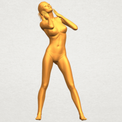 Free 3D print files Naked Girl D01, GeorgesNikkei