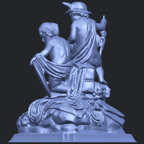 23_TDA0271_Two_kids_iiB05.png Télécharger fichier STL gratuit Deux enfants 02 • Design à imprimer en 3D, GeorgesNikkei