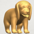 TDA0533 Puppy 01 A03.png Download free STL file Puppy 01 • 3D printer template, GeorgesNikkei
