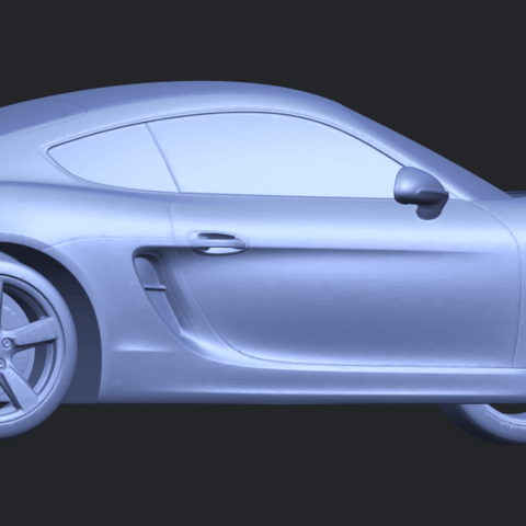 16_TDA0304_Porche_01_Length438mmB06.png Download free STL file Porche 01 • 3D printable object, GeorgesNikkei