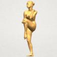 TDA0463 Naked Girl 17 A02.png Download free STL file Naked Girl 17 • Design to 3D print, GeorgesNikkei