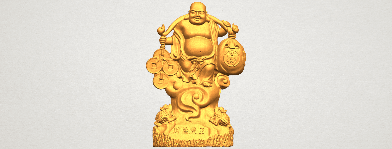 TDA0329 Metteyya Buddha 09 A01.png Télécharger fichier STL gratuit Bouddha Metteyya 09 • Modèle imprimable en 3D, GeorgesNikkei